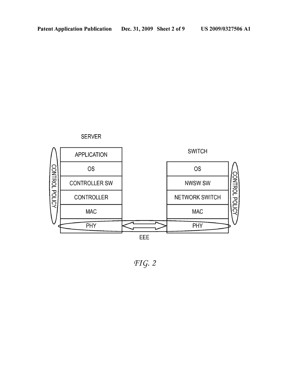SYSTEM AND METHOD FOR CONTROLLING A PHY ATTACHED TO A MAC INTERFACE FOR ENERGY EFFICIENT ETHERNET - diagram, schematic, and image 03