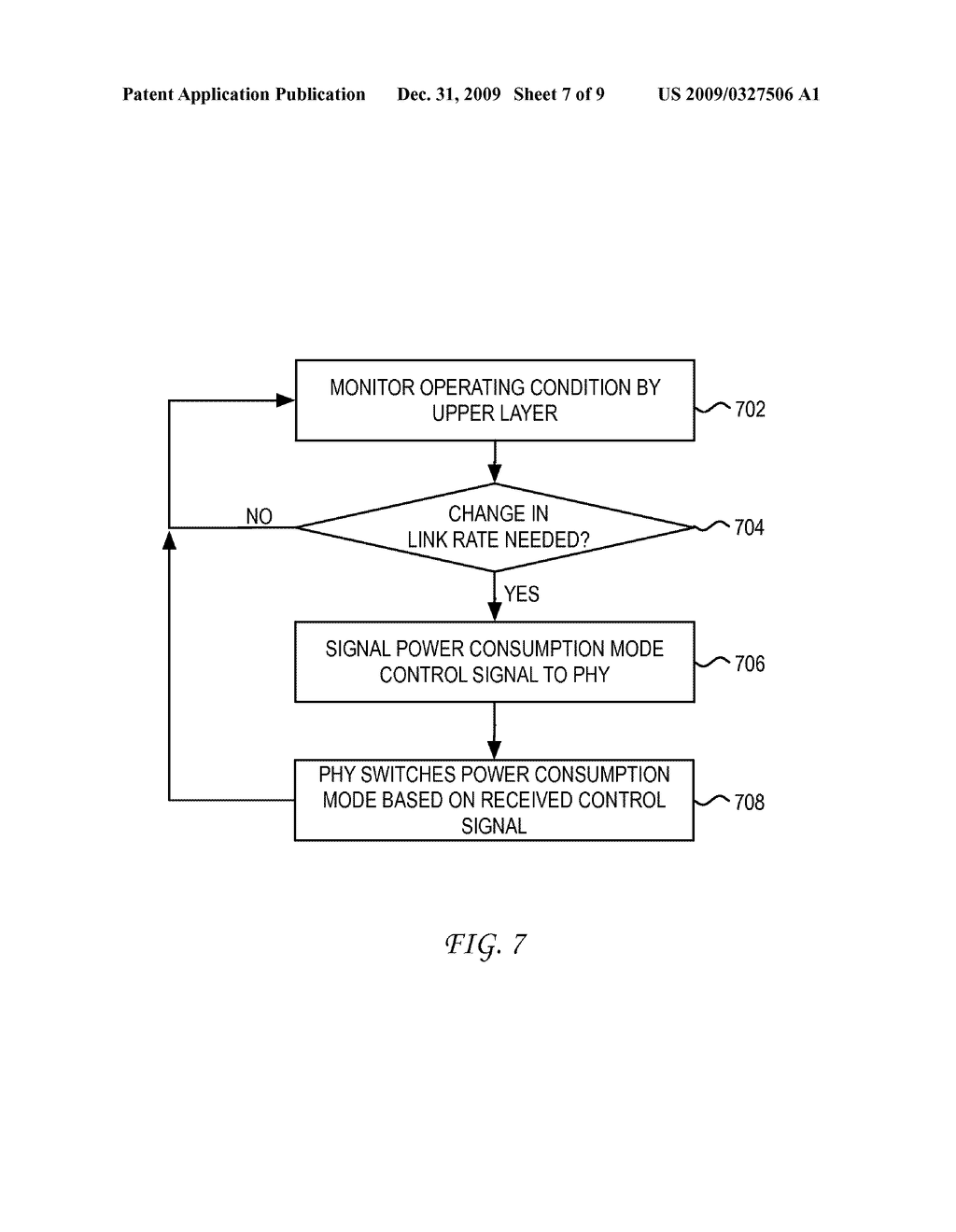SYSTEM AND METHOD FOR CONTROLLING A PHY ATTACHED TO A MAC INTERFACE FOR ENERGY EFFICIENT ETHERNET - diagram, schematic, and image 08