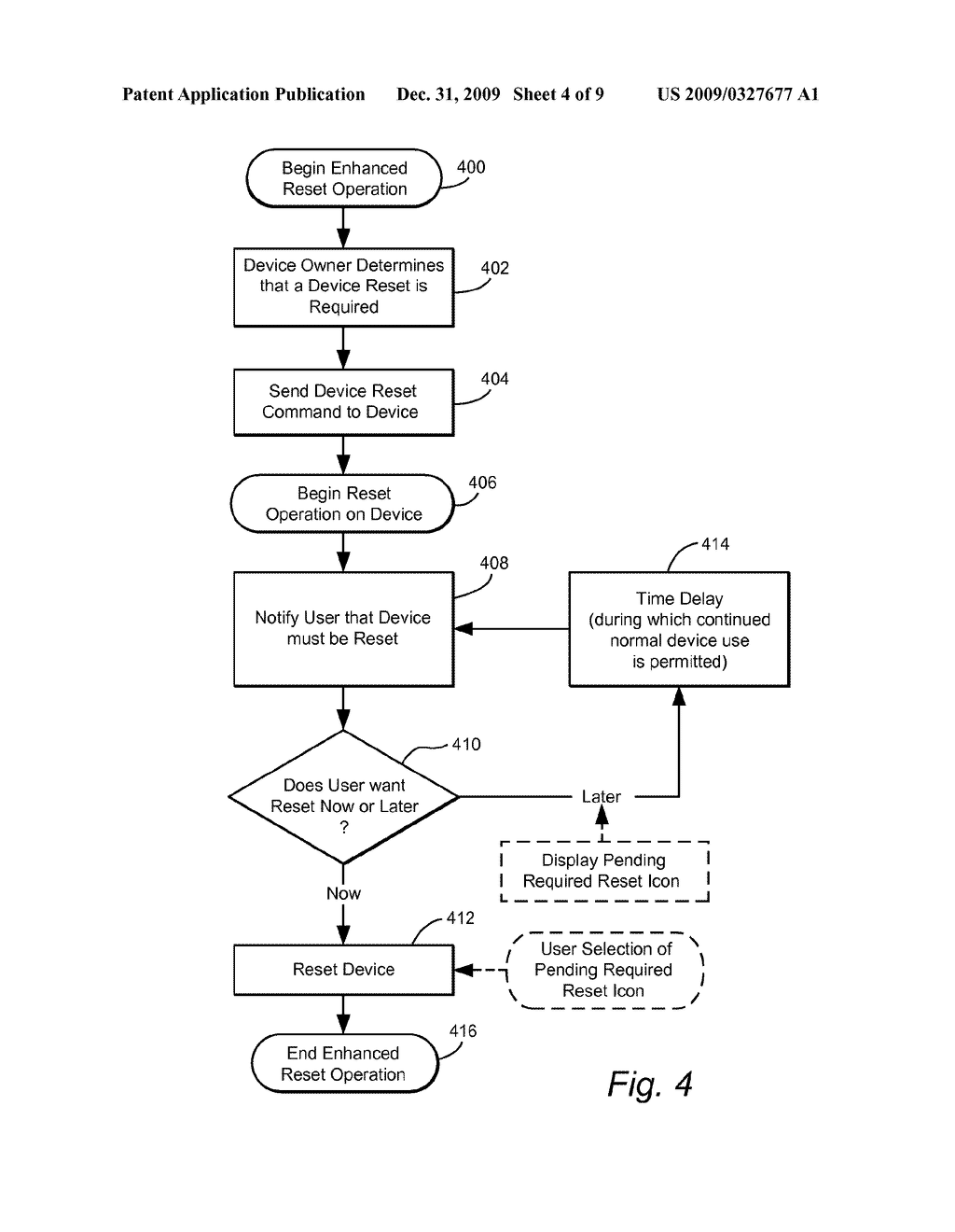 SYSTEM AND METHOD FOR SURELY BUT CONVENIENTLY CAUSING RESET OF A COMPUTERIZED DEVICE - diagram, schematic, and image 05