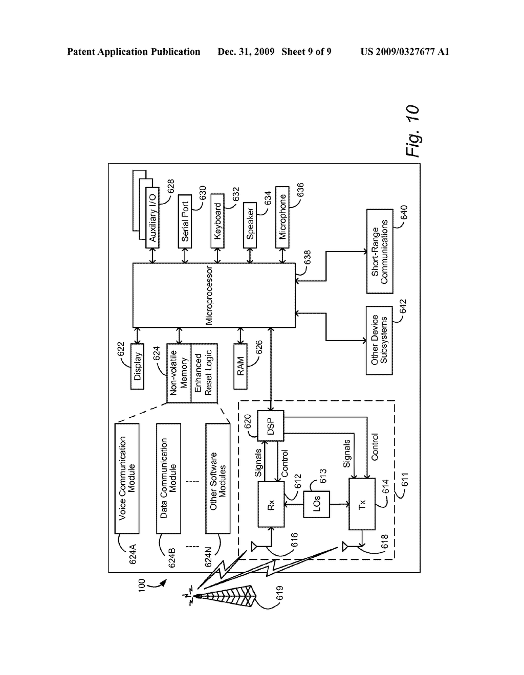 SYSTEM AND METHOD FOR SURELY BUT CONVENIENTLY CAUSING RESET OF A COMPUTERIZED DEVICE - diagram, schematic, and image 10
