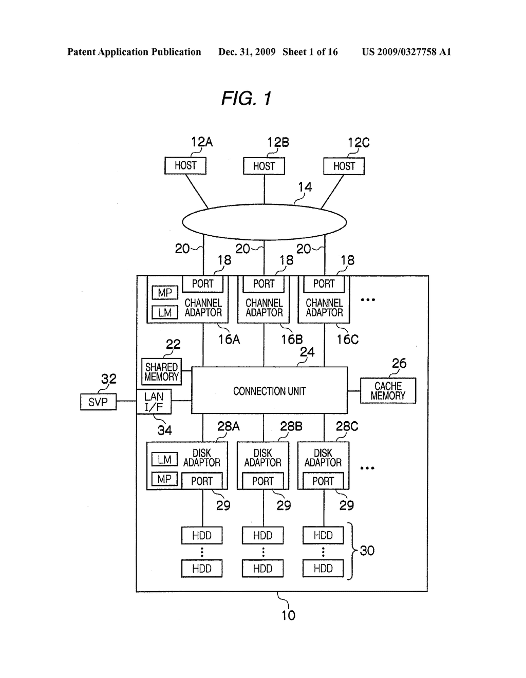 STORAGE APPARATUS AND DATA PROCESSING METHOD FOR STORAGE APPARATUS - diagram, schematic, and image 02
