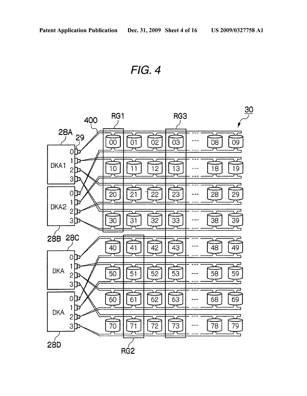 STORAGE APPARATUS AND DATA PROCESSING METHOD FOR STORAGE APPARATUS - diagram, schematic, and image 05