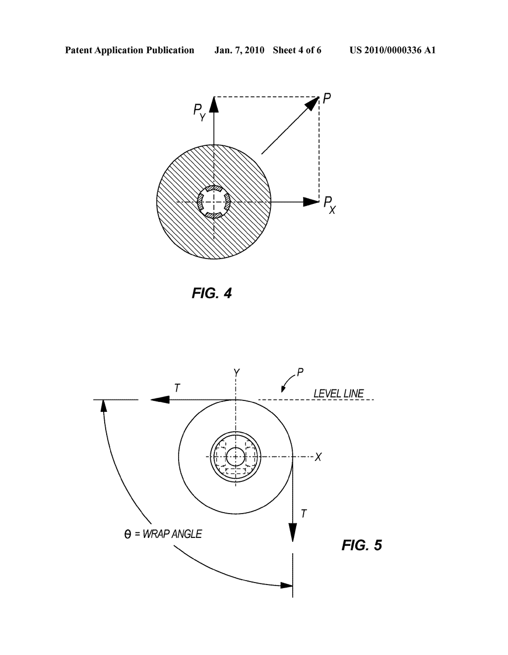 DEVICE FOR MEASURING A LOAD AT THE END OF A ROPE WRAPPED OVER A ROD - diagram, schematic, and image 05