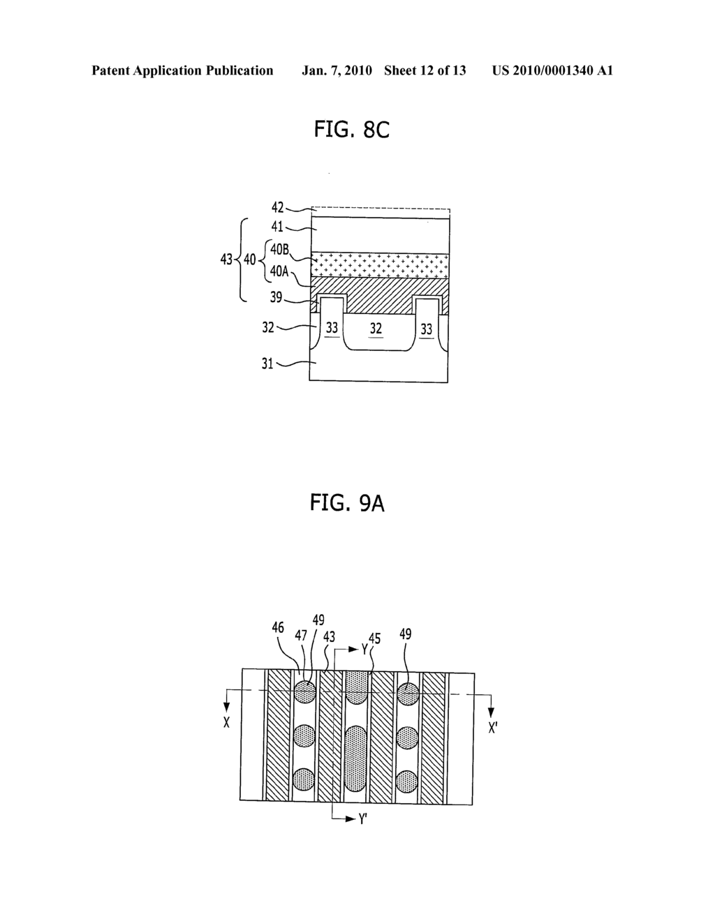 SEMICONDUCTOR DEVICE AND METHOD FOR FABRICATING THE SAME - diagram, schematic, and image 13
