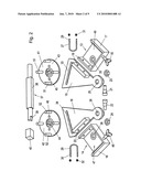 CONSTRUCTION KIT AND METHOD FOR CONVERTING A BICYCLE. AND BICYCLE diagram and image
