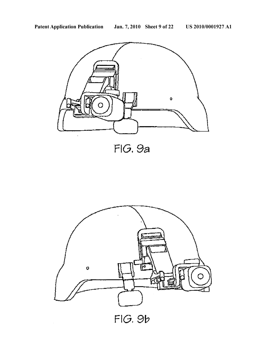 Helmet mounted modular night vision enhancement apparatus - diagram, schematic, and image 10