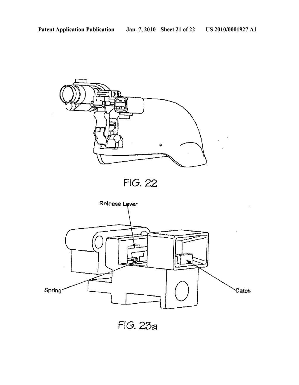 Helmet mounted modular night vision enhancement apparatus - diagram, schematic, and image 22