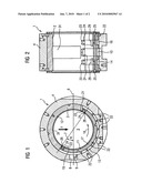 HYDRODYNAMIC RADIAL PLAIN BEARING WITH A VERY HIGH LOAD-BEARING CAPACITY OF LARGE TURBINE SETS diagram and image