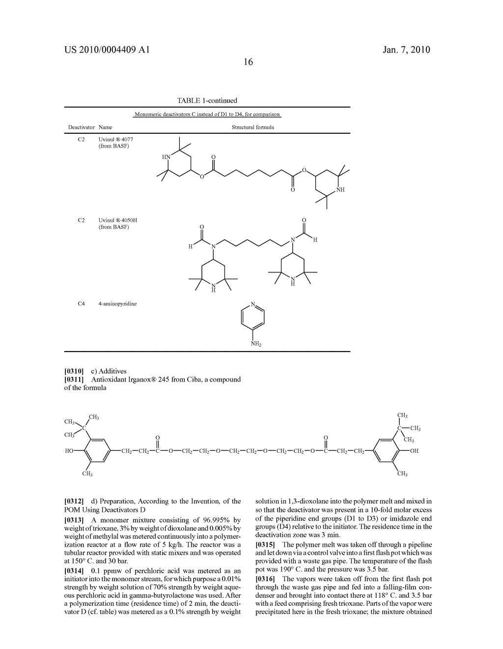 METHOD FOR PRODUCING POLYOXYMETHYLENES WITH CERTAIN DEACTIVATORS - diagram, schematic, and image 17