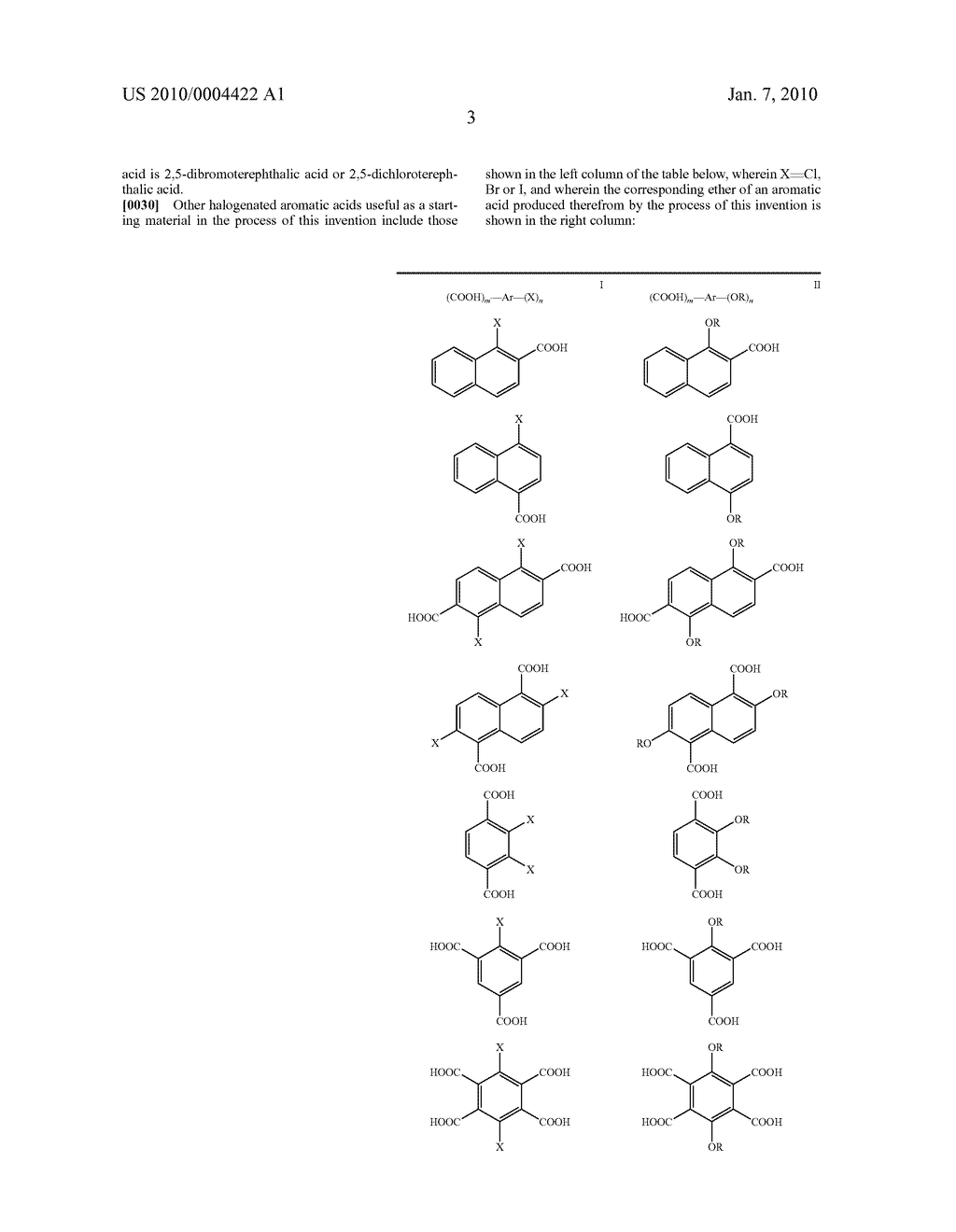 PROCESS FOR THE SYNTHESIS OF ETHERS OF AROMATIC ACIDS - diagram, schematic, and image 04