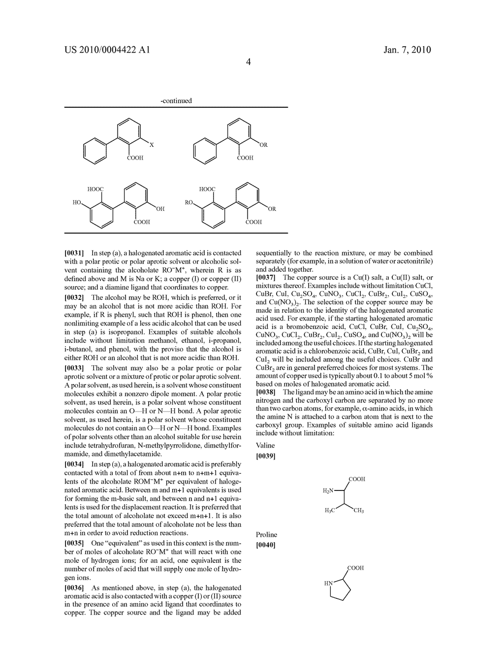 PROCESS FOR THE SYNTHESIS OF ETHERS OF AROMATIC ACIDS - diagram, schematic, and image 05