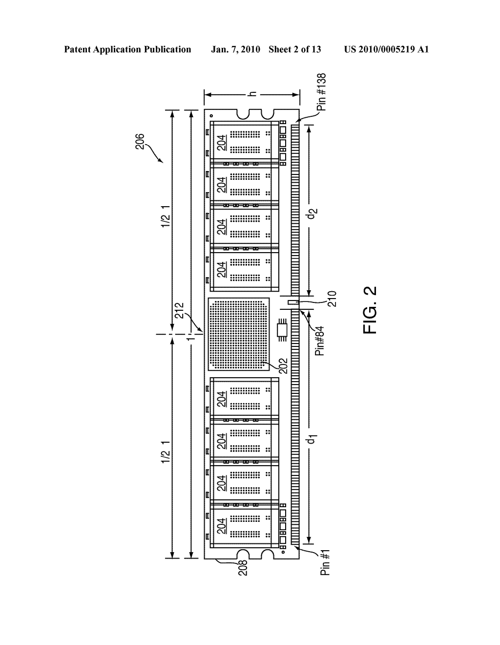 276-PIN BUFFERED MEMORY MODULE WITH ENHANCED MEMORY SYSTEM INTERCONNECT AND FEATURES - diagram, schematic, and image 03