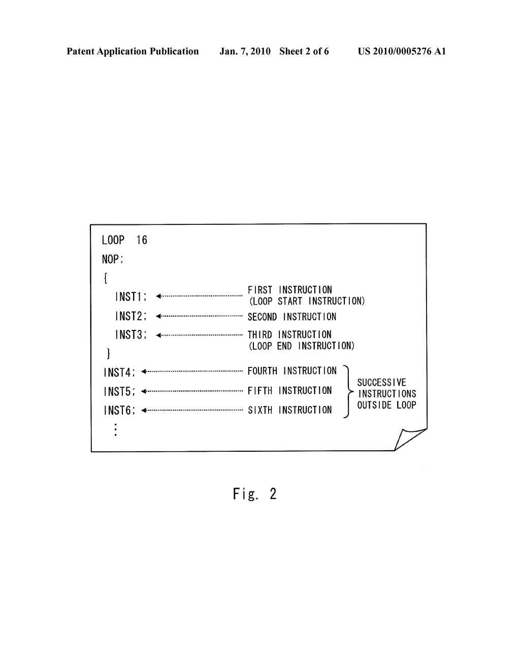 INFORMATION PROCESSING DEVICE AND METHOD OF CONTROLLING INSTRUCTION FETCH - diagram, schematic, and image 03