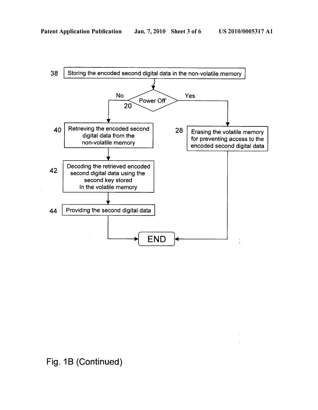 Securing temporary data stored in non-volatile memory using volatile memory - diagram, schematic, and image 04