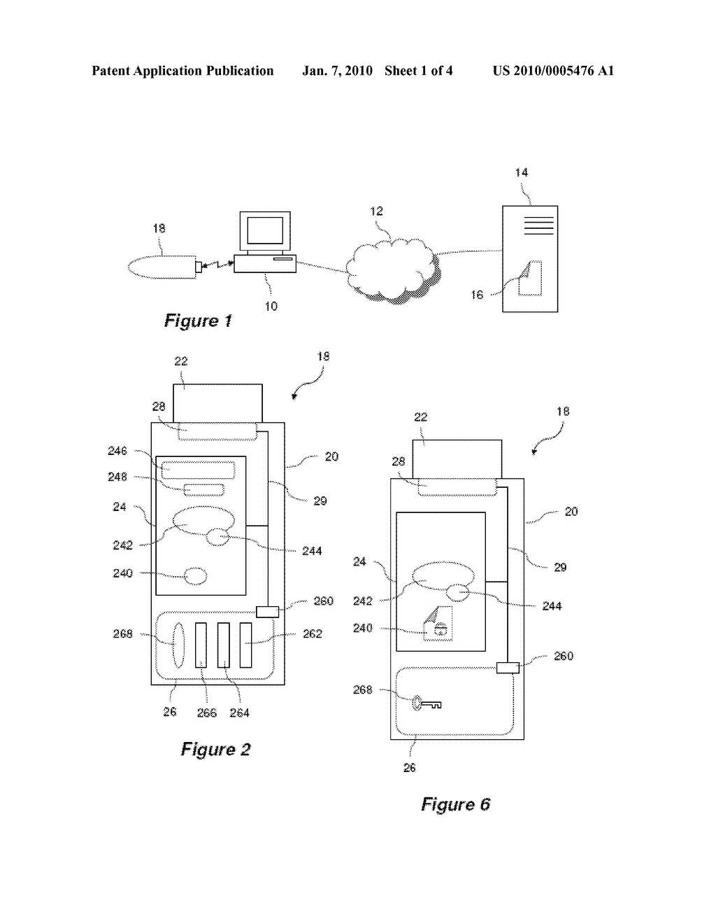 MOBILE ELECTRONIC DEVICE INCLUDING A PORTABLE APPLICATION AND A SECURED MODULE ABLE TO COMMUNICATE WITH EACH OTHER, AND ASSOCIATED COMMUNICATION METHOD - diagram, schematic, and image 02