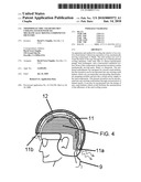 Thermoelectric crash helmet cooling system with no mechanically moving components or fluids diagram and image