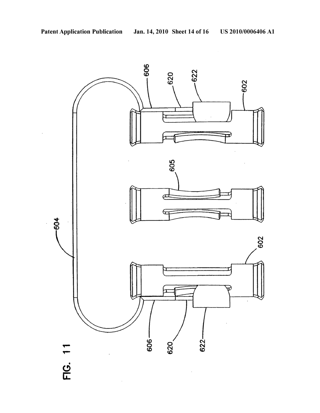 Plug connector for cable television network and method of use - diagram, schematic, and image 15