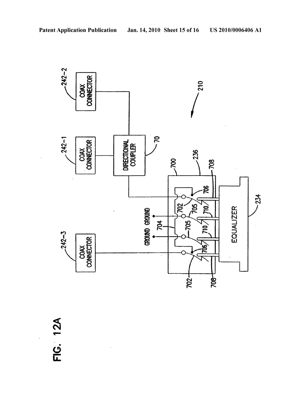 Plug connector for cable television network and method of use - diagram, schematic, and image 16