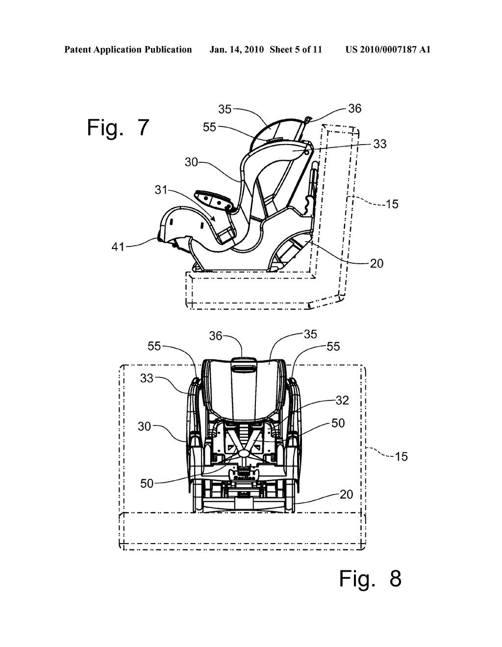 Car Seat Recline Mechanism With Double Acting Actuator Diagram
