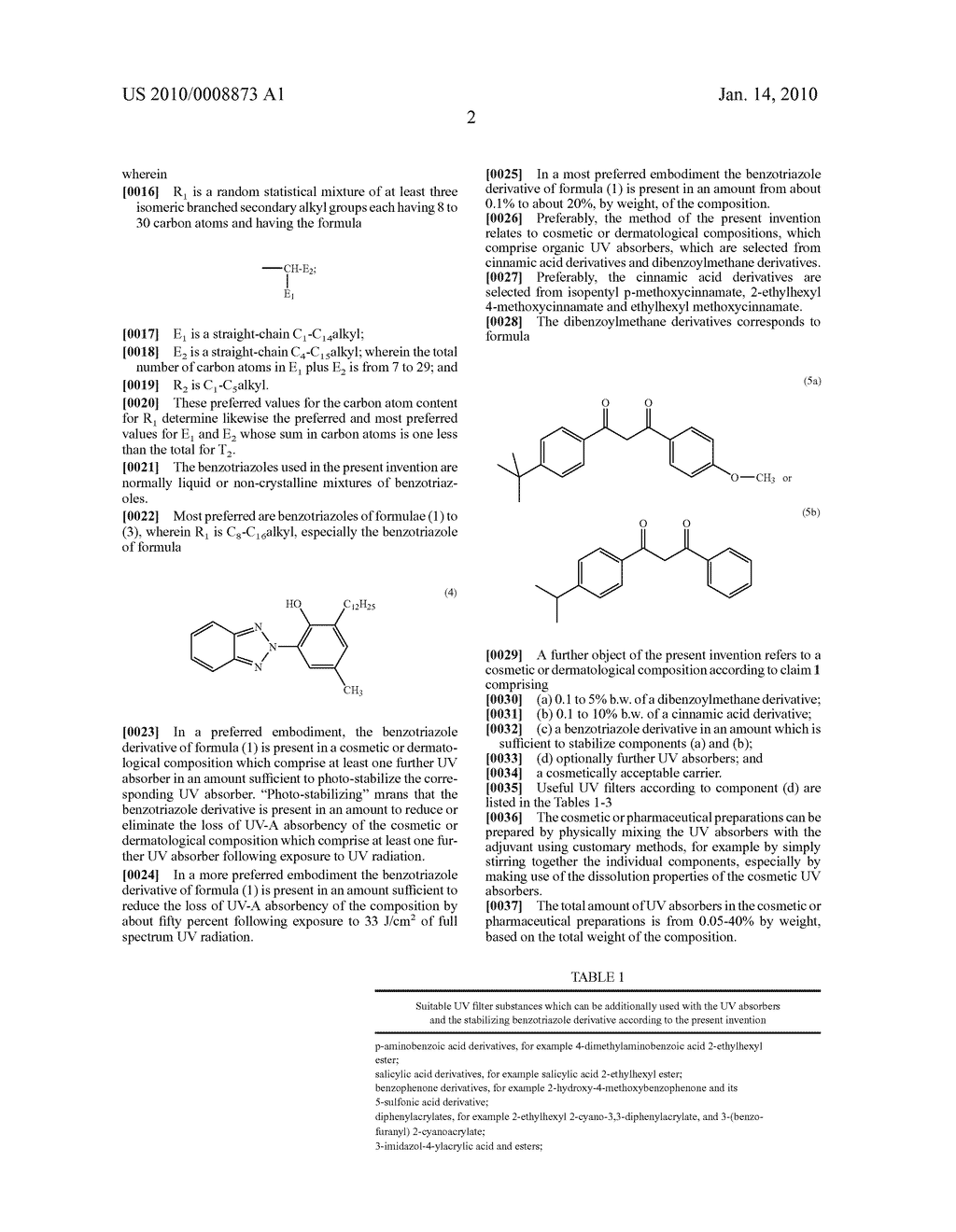 Use of benzotriazole derivatives for photostabilisation - diagram, schematic, and image 03