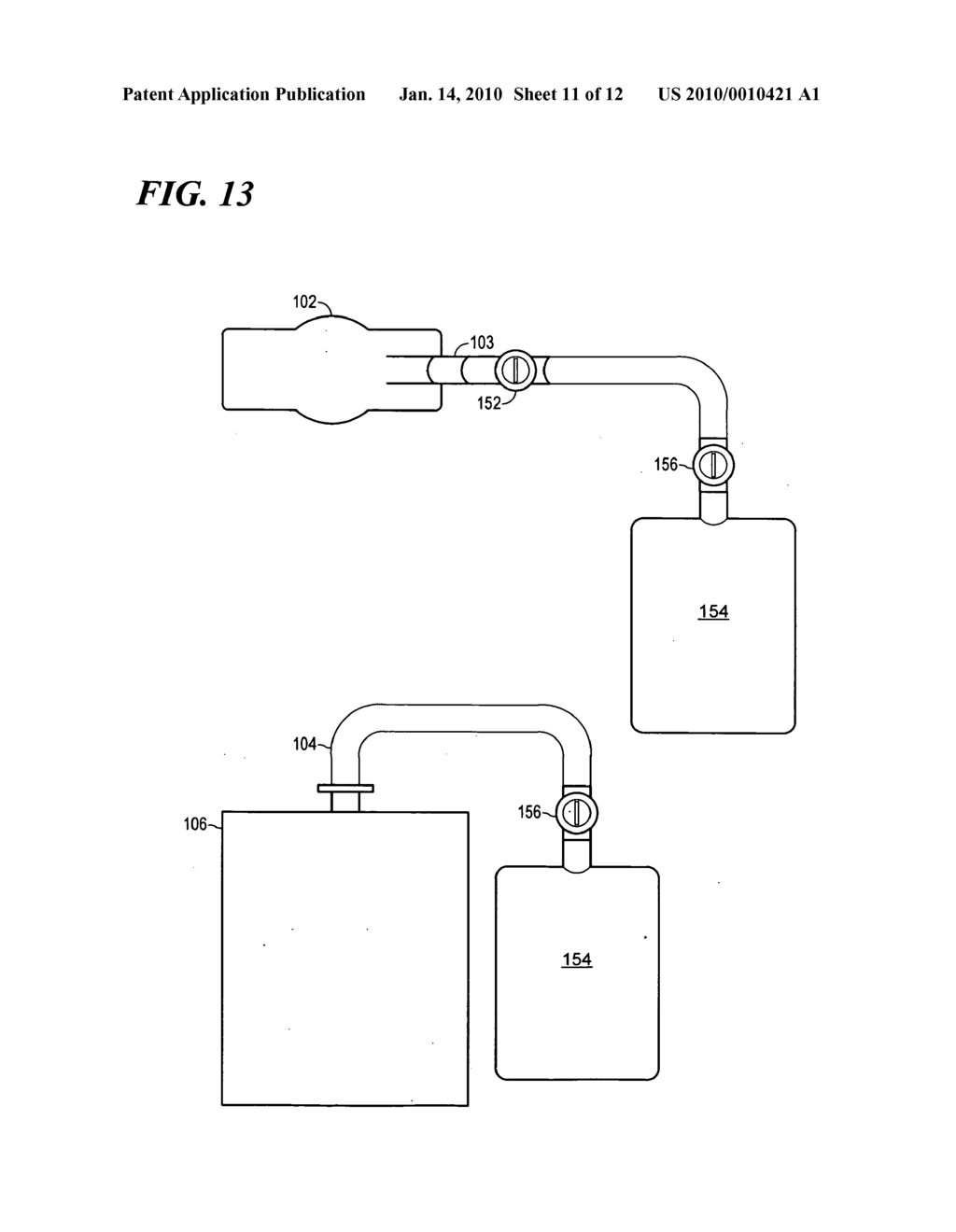 METHOD AND APPARATUS FOR DELIVERING THERAPEUTIC OXYGEN TREATMENTS - diagram, schematic, and image 12