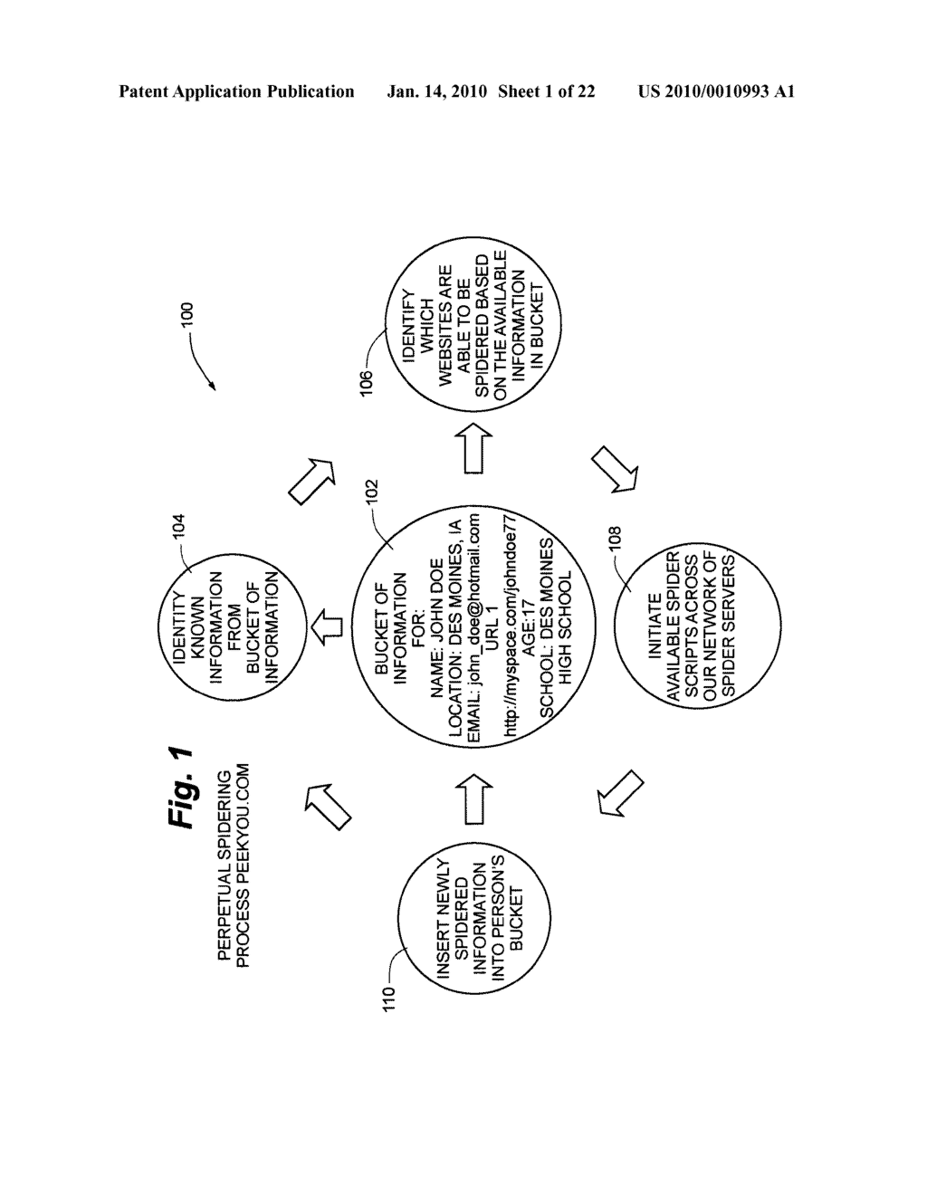 Distributed personal information aggregator - diagram, schematic, and image 02