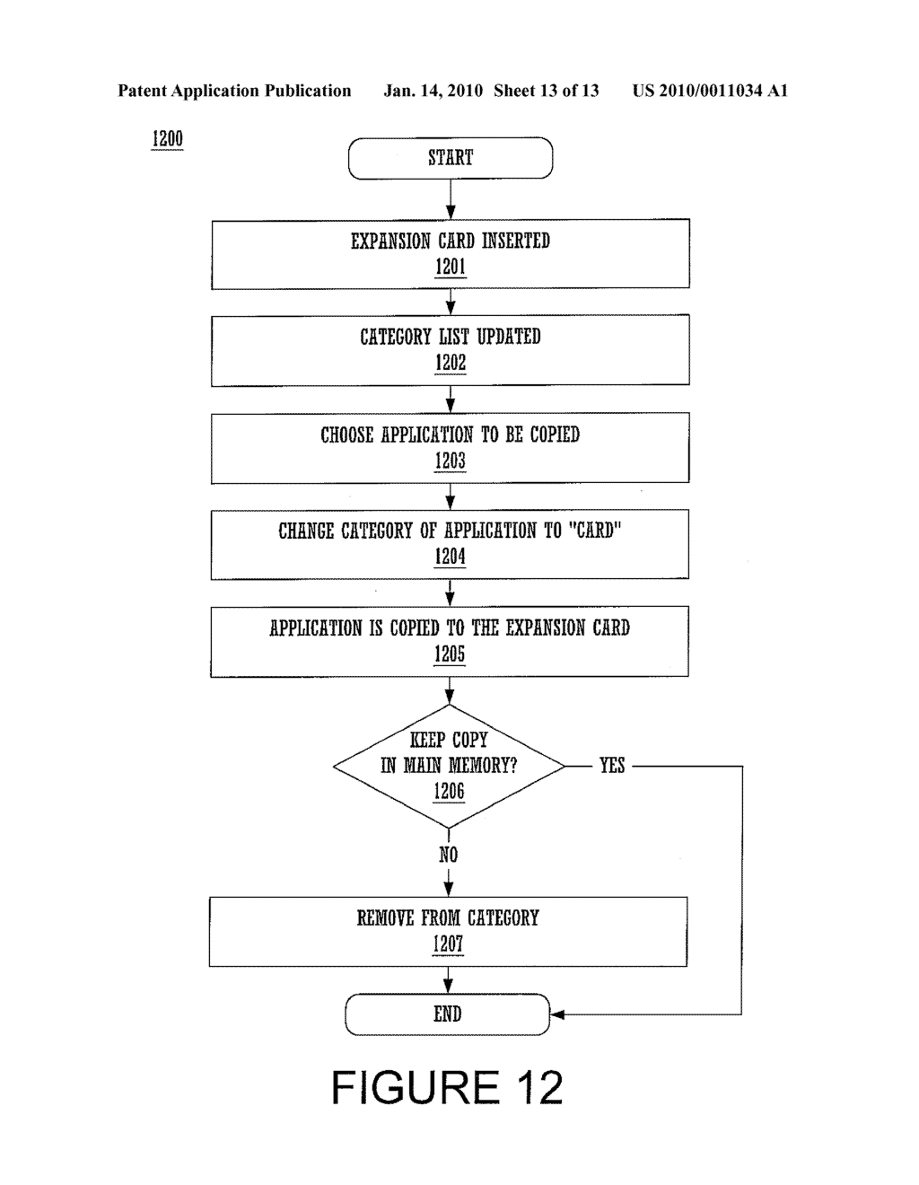 METHOD AND SYSTEM FOR COPYING A FILE - diagram, schematic, and image 14