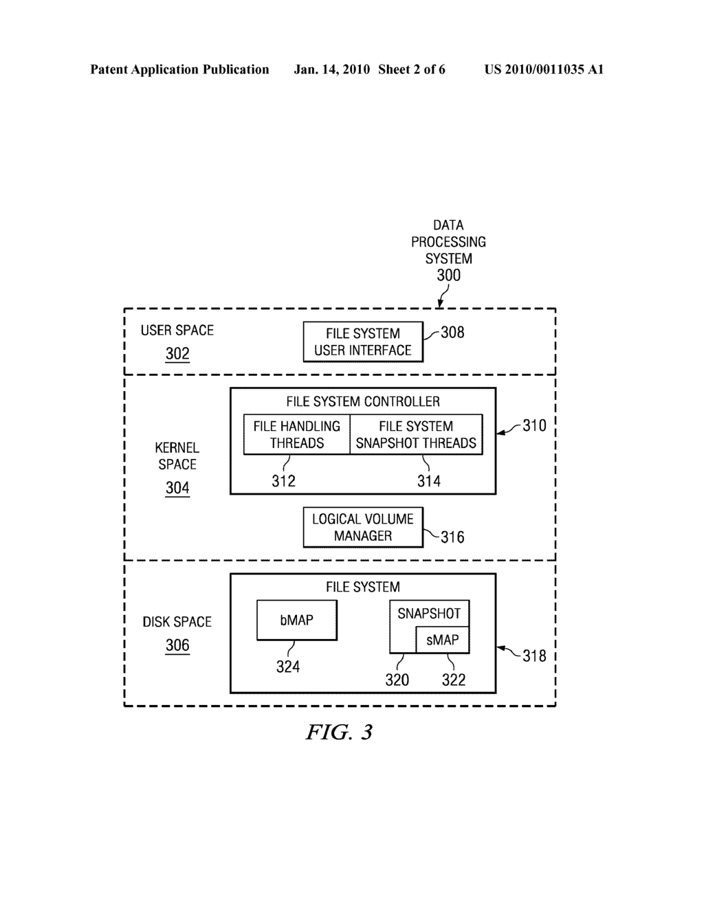 Method and System for Handling Reallocated Blocks in a File System - diagram, schematic, and image 03
