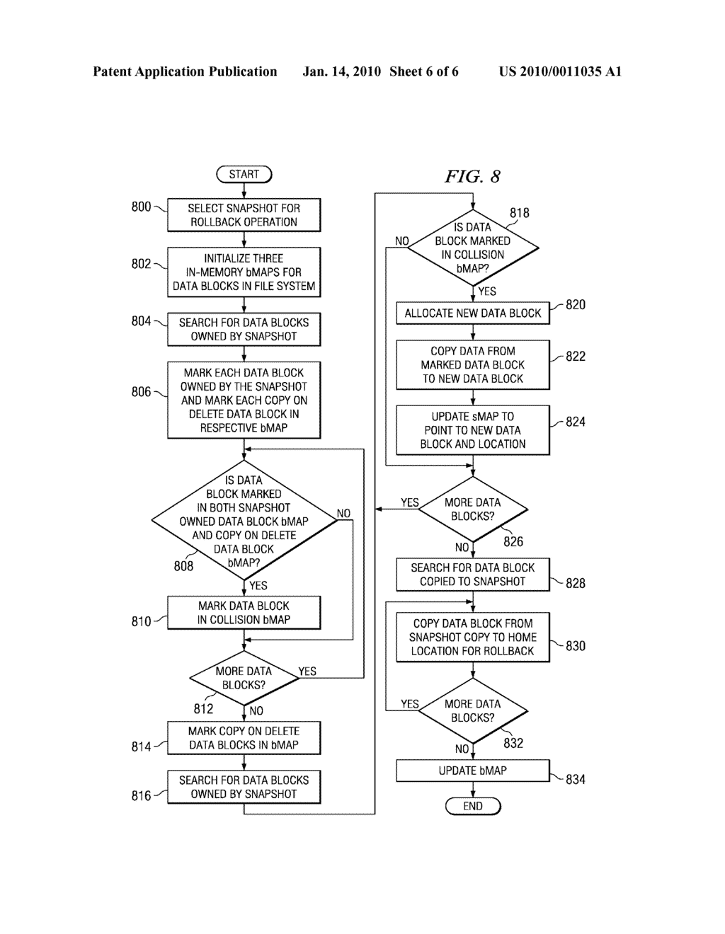 Method and System for Handling Reallocated Blocks in a File System - diagram, schematic, and image 07