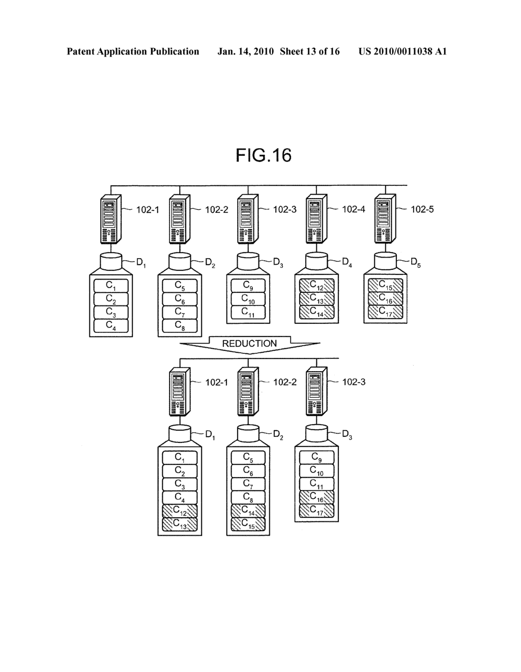 DISTRIBUTED STORAGE MANAGING APPARATUS, DISTRIBUTED STORAGE MANAGING METHOD, AND COMPUTER PRODUCT - diagram, schematic, and image 14