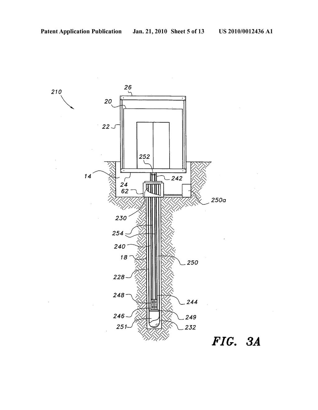 diagram of hydraulic elevator system
