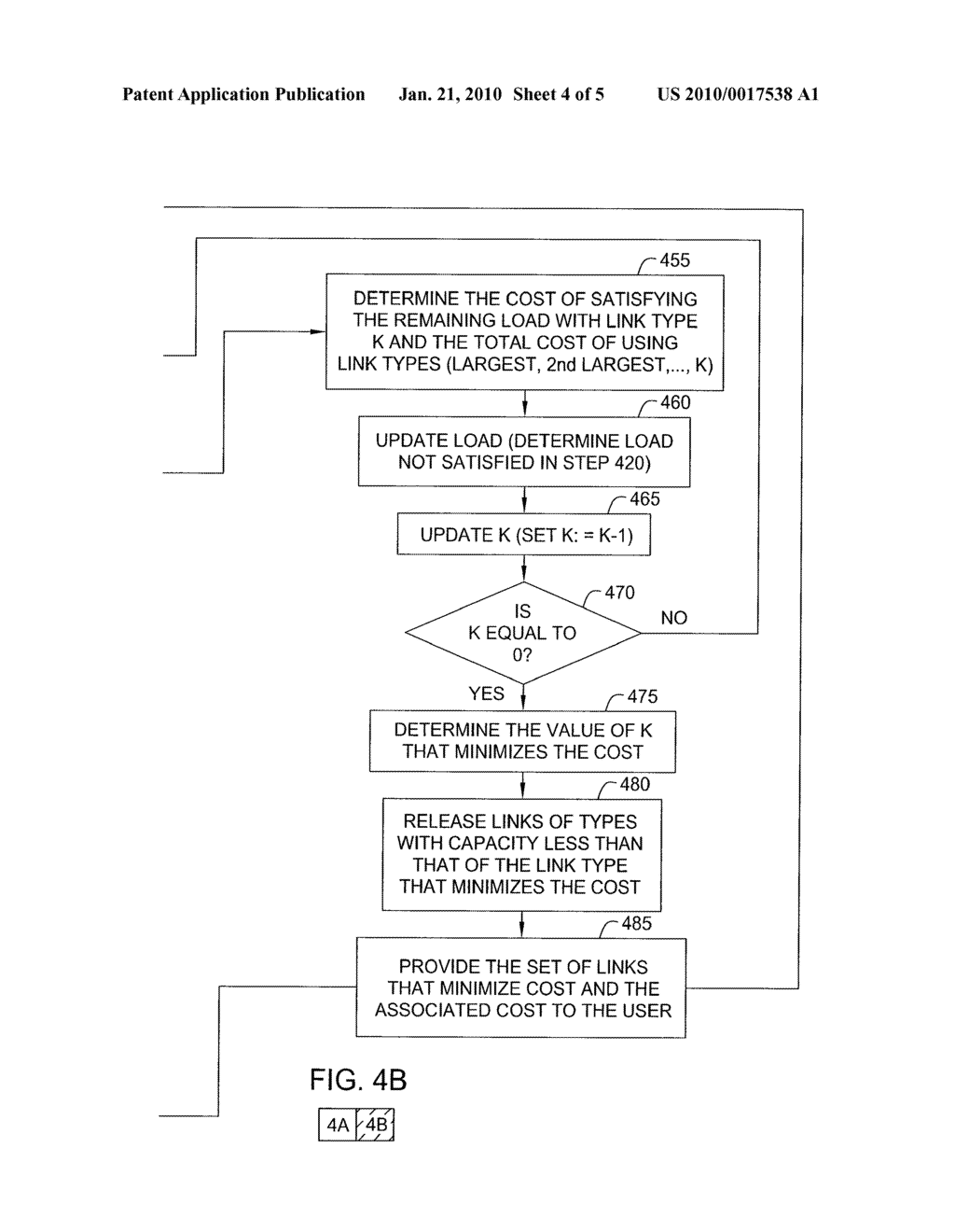 METHOD AND APPARATUS FOR PROVIDING COMPOSITE LINK ASSIGNMENT IN NETWORK DESIGN - diagram, schematic, and image 05