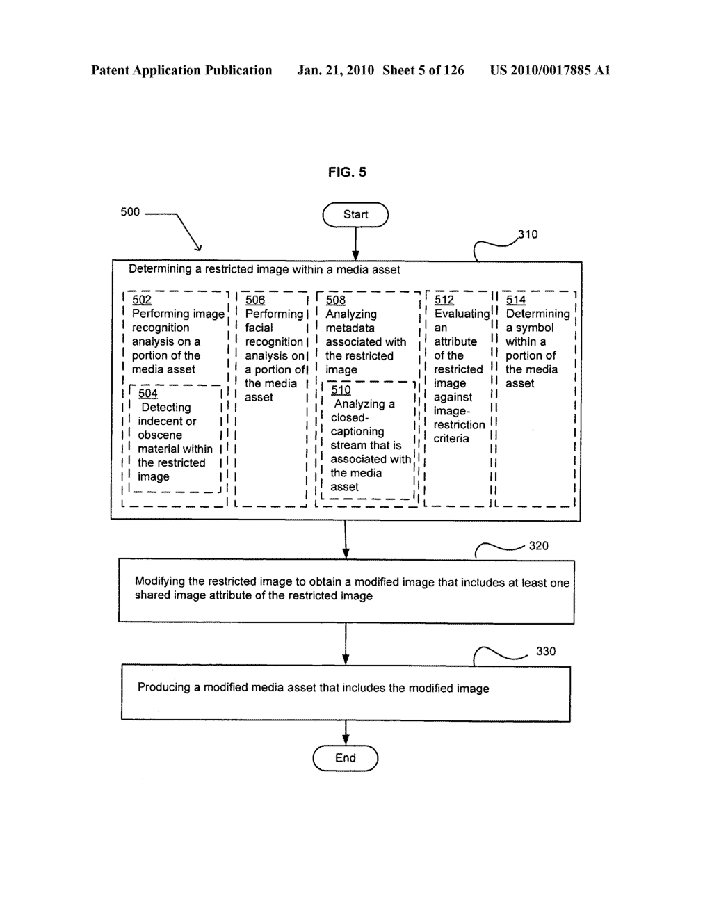 Media markup identifier for alterable promotional segments - diagram, schematic, and image 06