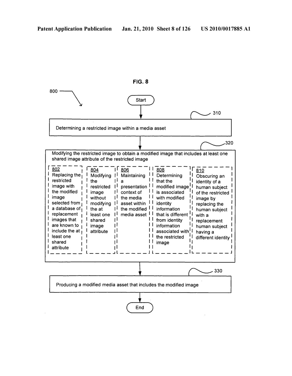 Media markup identifier for alterable promotional segments - diagram, schematic, and image 09