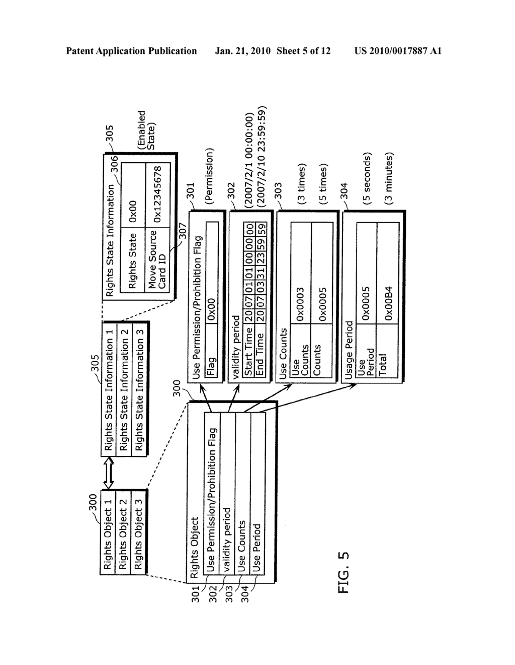 RIGHTS OBJECT MOVING METHOD, CONTENT PLAYER, AND SEMICONDUCTOR DEVICE - diagram, schematic, and image 06