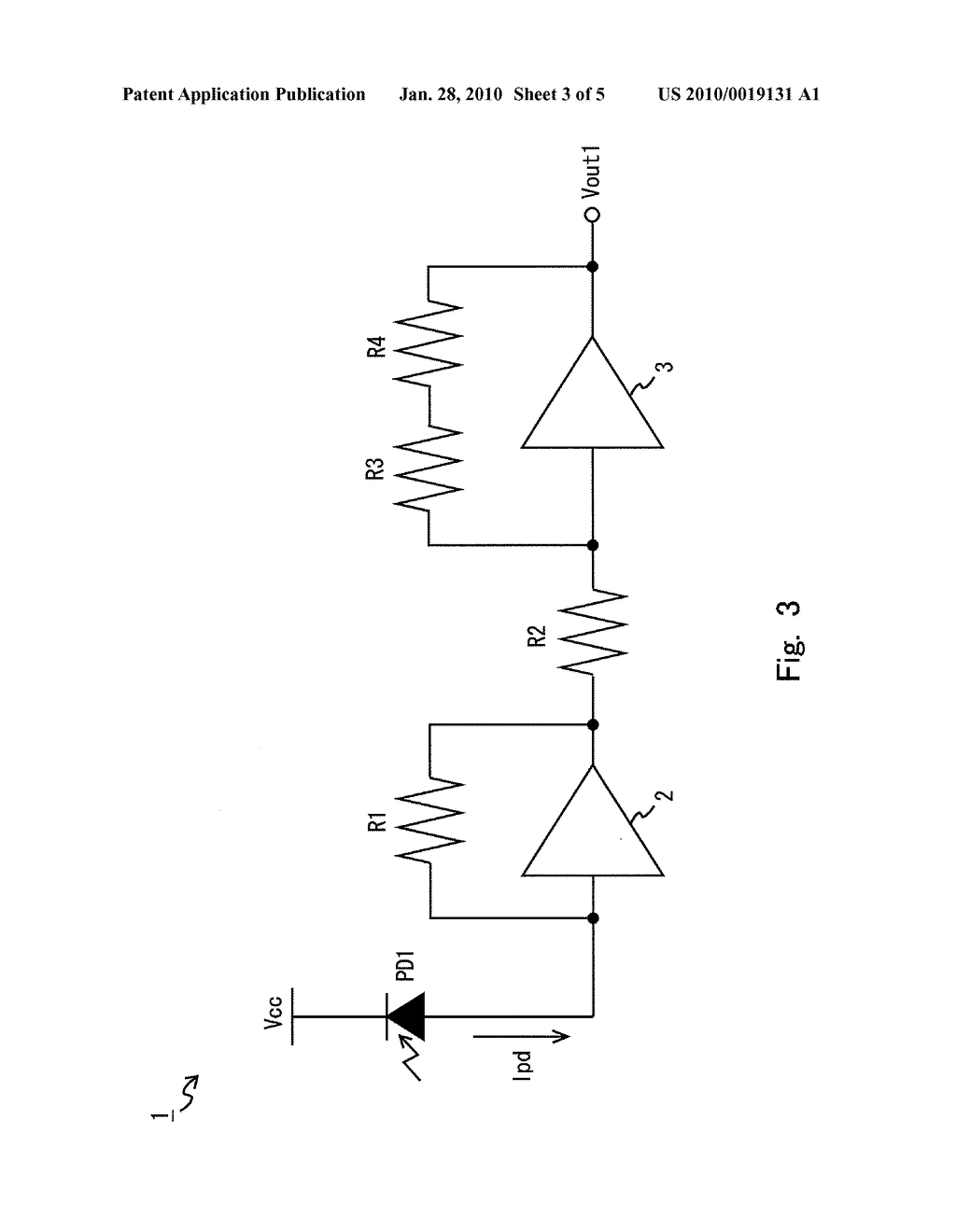 PHOTODETECTOR AMPLIFIER CIRCUIT - diagram, schematic, and image 04