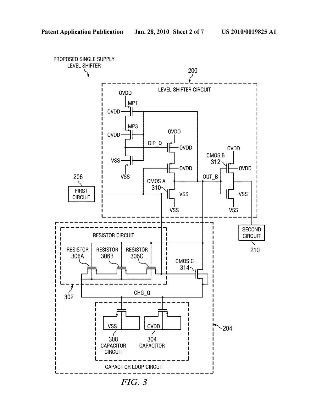 Novel Single Supply Level Shifter Circuit For Multi Voltage Designs Capable Of Up Down Shifting Diagram Schematic And Image 03