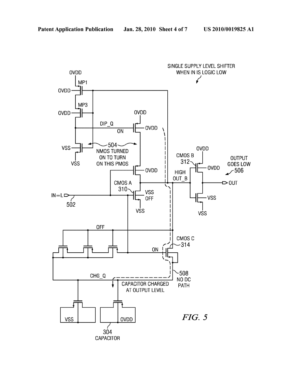 Novel Single Supply Level Shifter Circuit For Multi Voltage Designs Capable Of Up Down Shifting Diagram Schematic And Image 05