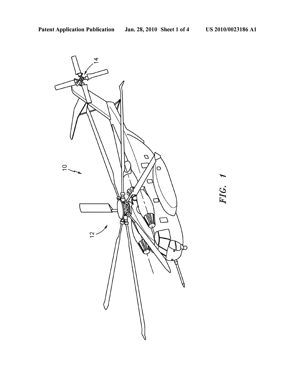 FLY-BY-WIRE FLIGHT CONTROL SYSTEM WITH ELECTRONIC LEAD/LAG DAMPER ALGORITHM  - diagram, schematic, and image 02
