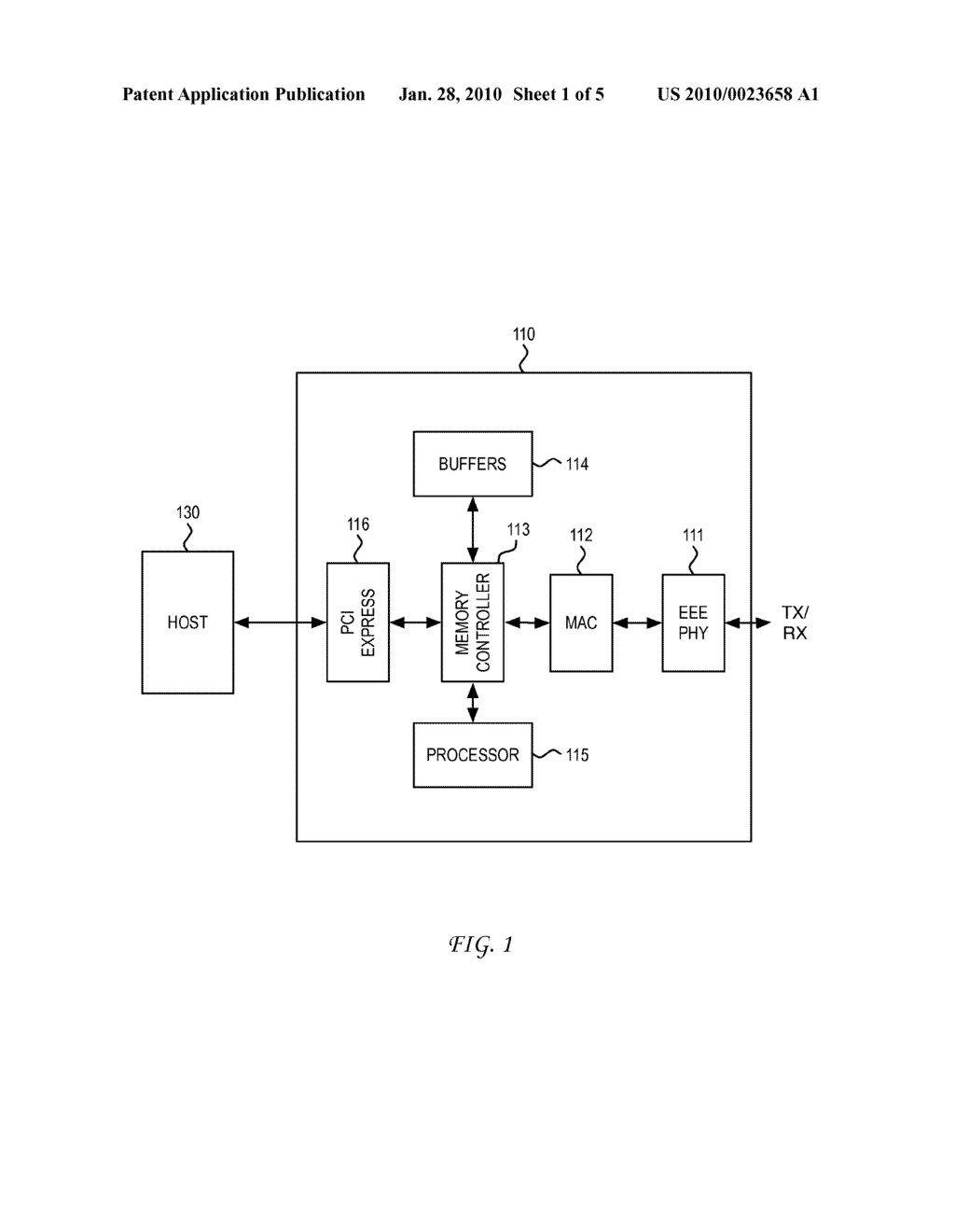 SYSTEM AND METHOD FOR ENABLING LEGACY MEDIUM ACCESS CONTROL TO DO ENERGY EFFICENT ETHERNET - diagram, schematic, and image 02