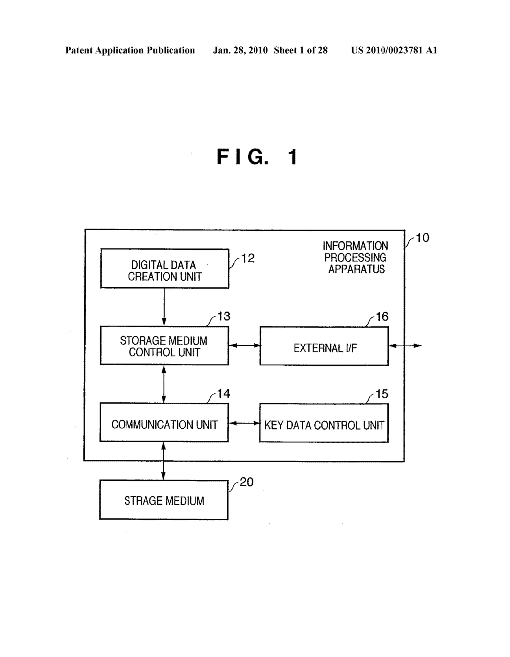 DATA PROCESSING APPARATUS, DATA STORAGE DEVICE, AND DATA PROCESSING METHOD THEREFOR - diagram, schematic, and image 02