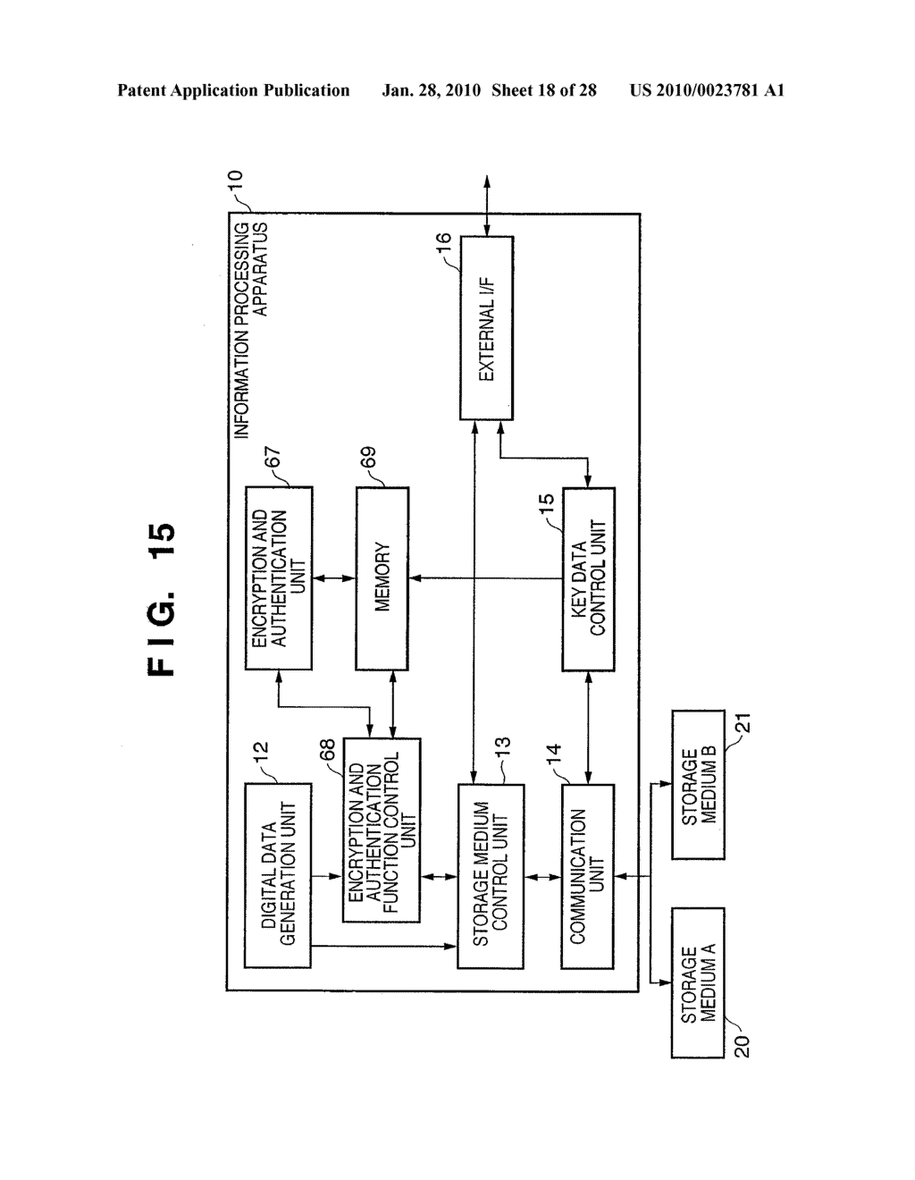 DATA PROCESSING APPARATUS, DATA STORAGE DEVICE, AND DATA PROCESSING METHOD THEREFOR - diagram, schematic, and image 19