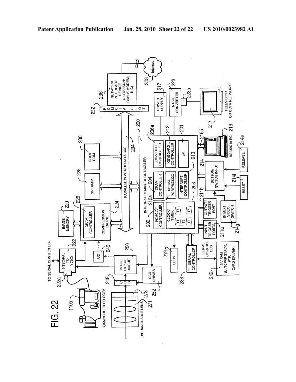 Camera connectible to cctv network diagram schematic and image 23 ccuart