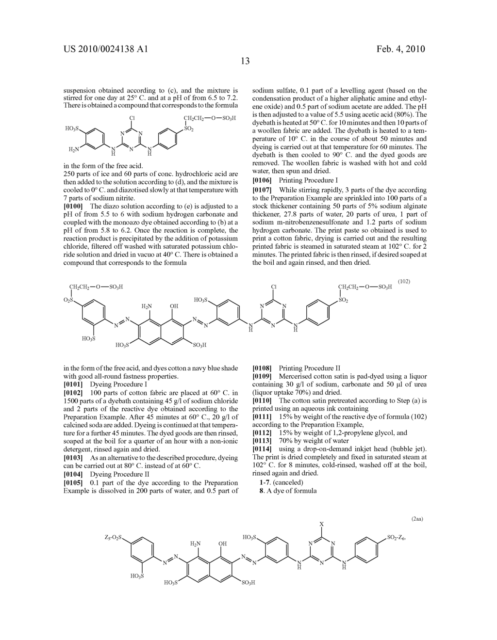 MIXTURES OF REACTIVE DYES AND THEIR USE - diagram, schematic, and image 14