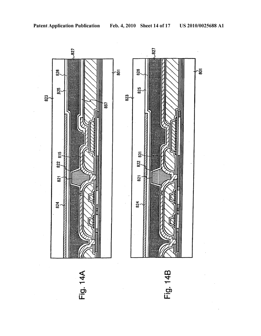 SEMICONDUCTOR ELEMENT AND DISPLAY DEVICE USING THE SAME - diagram, schematic, and image 15