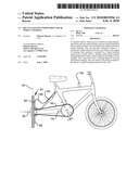 BICYCLE HAVING INDEPENDENT REAR WHEEL STEERING diagram and image