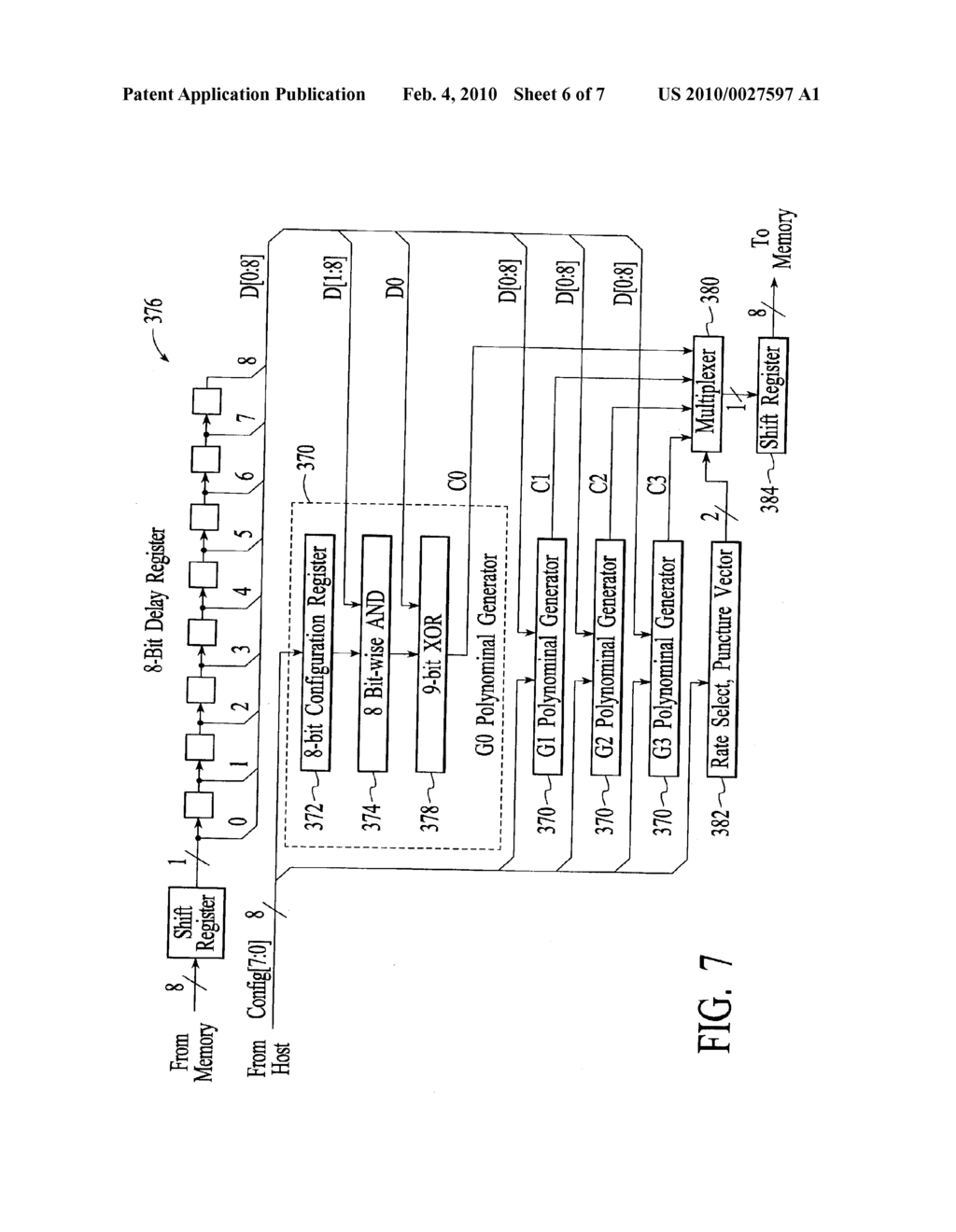 METHOD AND SYSTEM FOR RECONFIGURABLE CHANNEL CODING - diagram, schematic, and image 07