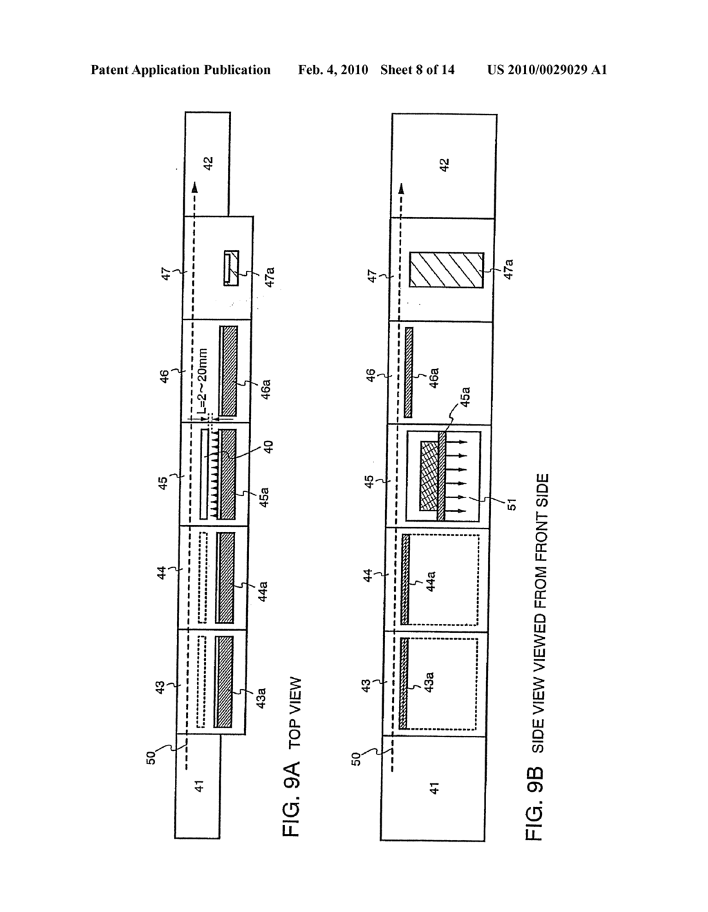 Method of Manufacturing Light Emitting Device - diagram, schematic, and image 09