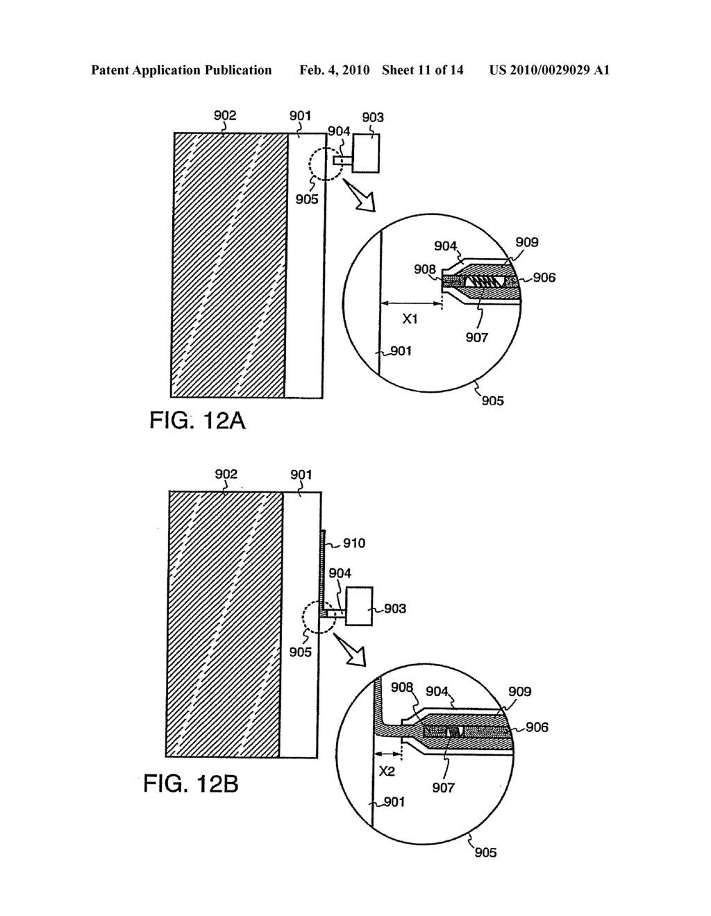 Method of Manufacturing Light Emitting Device - diagram, schematic, and image 12