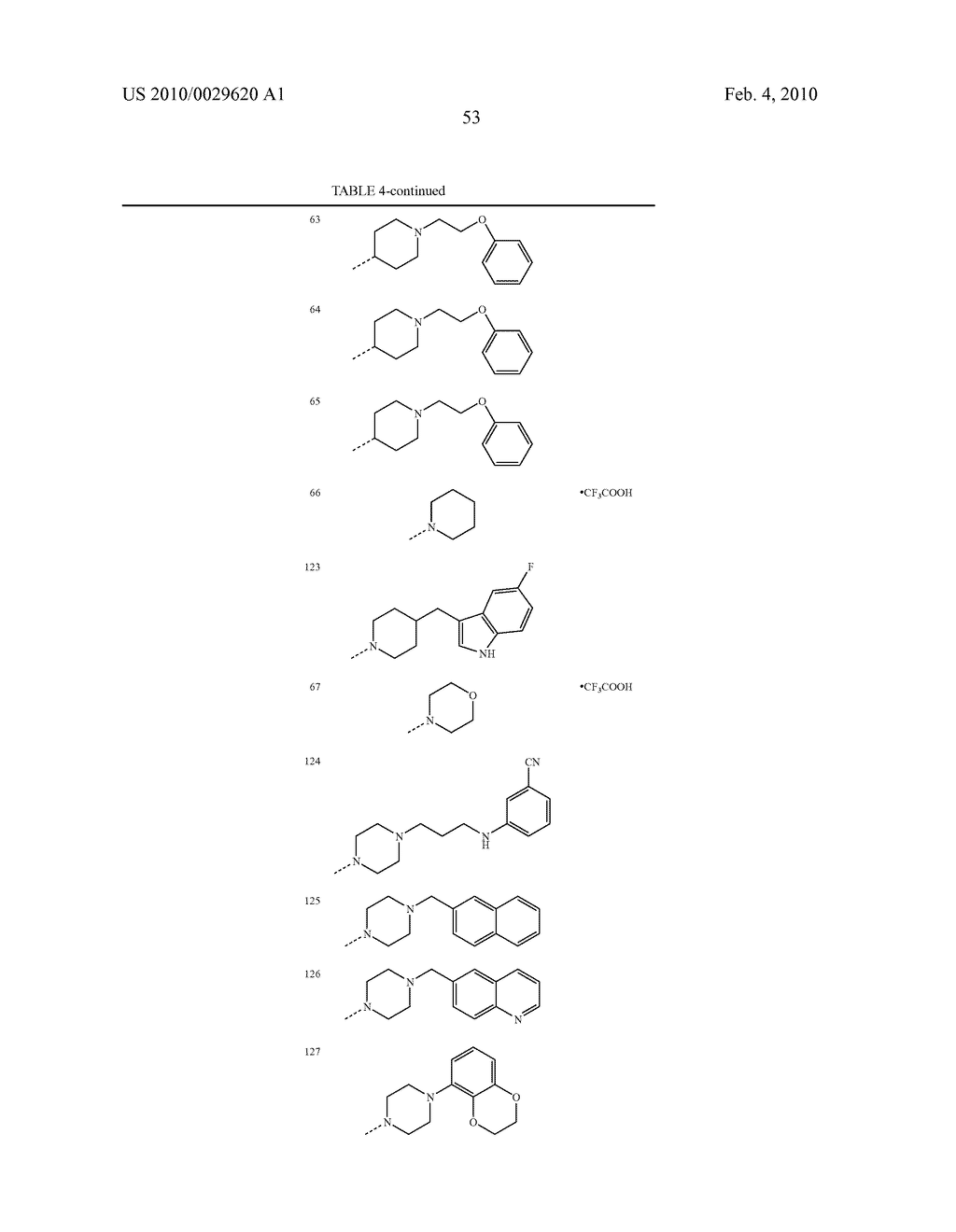 SUBSTITUTED TRIAZOLINE, TETRAZOLONE AND IMIDAZOLONE DERIVATIVES FOR USE AS A MEDICINE - diagram, schematic, and image 54